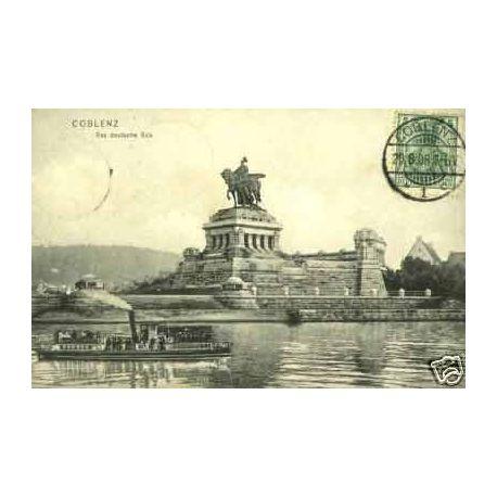 Allemagne - Coblenz - Das Deutsche Eck