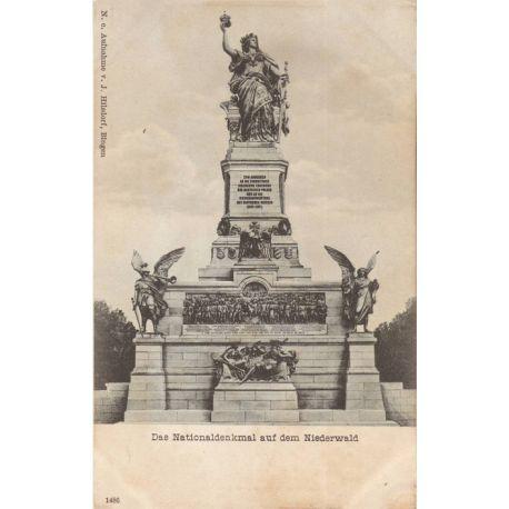 Allemagne - Das Nationaldenkmal auf dem Niederwald