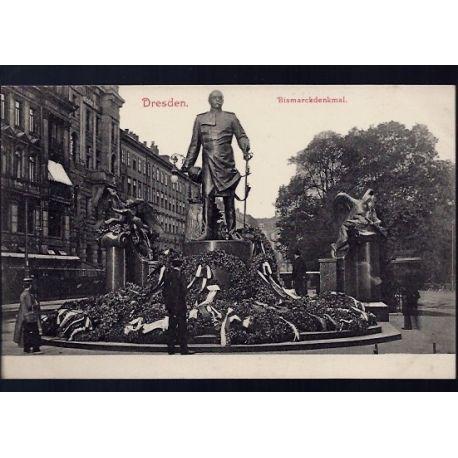 Allemagne - Dresden - Bismarckdenkmal