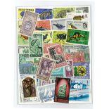 Britische Sammlung gestempelter Briefmarken Honduras
