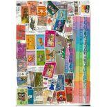 Sammlung gestempelter Briefmarken Hong Kong