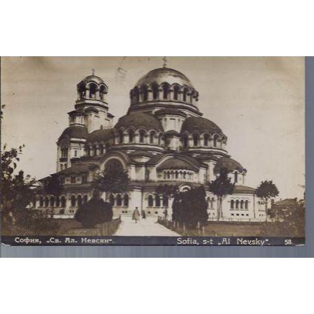 Bulgarie - Sofia - S-T Al Nevsky