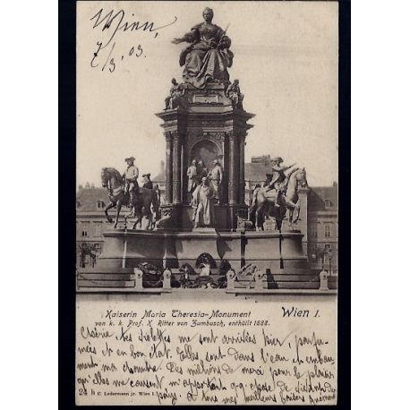 Autriche - Wien - Kaiserin Maria Theresia-Monument