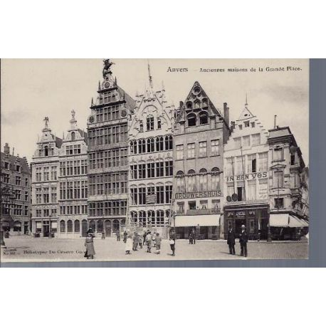 Belgique - Anvers - Anciennes maisons