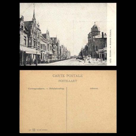 Belgique - Anvers - Avenue Cogels