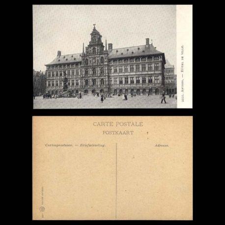 Belgique - Anvers - Hotel de ville