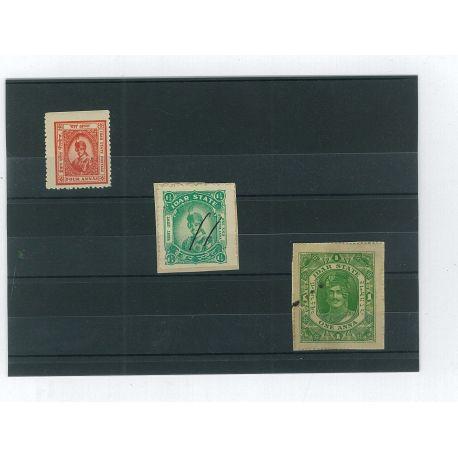 Idar - 3 verschiedene Briefmarken