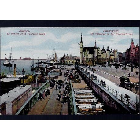 Belgique - Anvers - Le ponton et la terrasse Nord