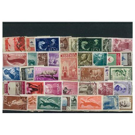 Ifni - 10 verschiedene Briefmarken