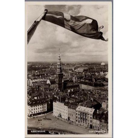 Danemark - Copenhague - Vue aerienne