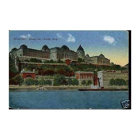 Hongrie - Budapest - Konigl. Burg.
