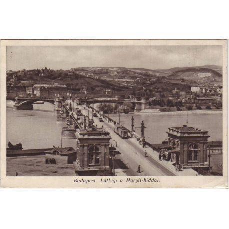 Hongrie - Budapest - Latkep a Margit-hiddal