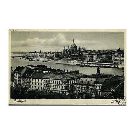 Hongrie - Budapest - Vue generale