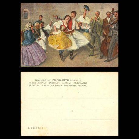 Hongrie - Folklore et costumes - Danses hongroises