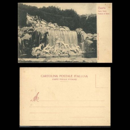 Italie - Caserta - Parco Reale - Fontana di Diana