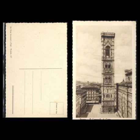 Italie - Firenze - Il campanile di Giotto