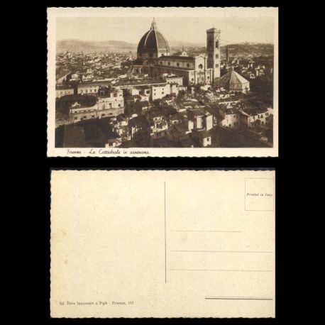Italie - Firenze - La Cattedrale in panorama
