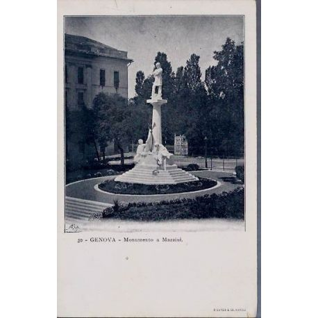 Italie - Genova - Monumento a Mazzini