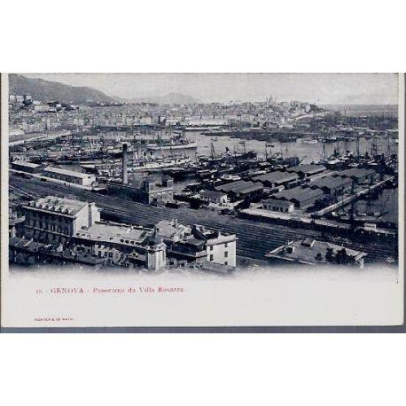 Italie - Genova - Panorama da Villa Rosazza
