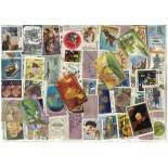 Used stamp collection India