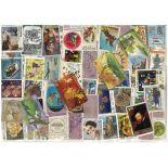 Sammlung gestempelter Briefmarken Indien
