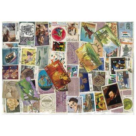 Indien - 200 verschiedene Briefmarken