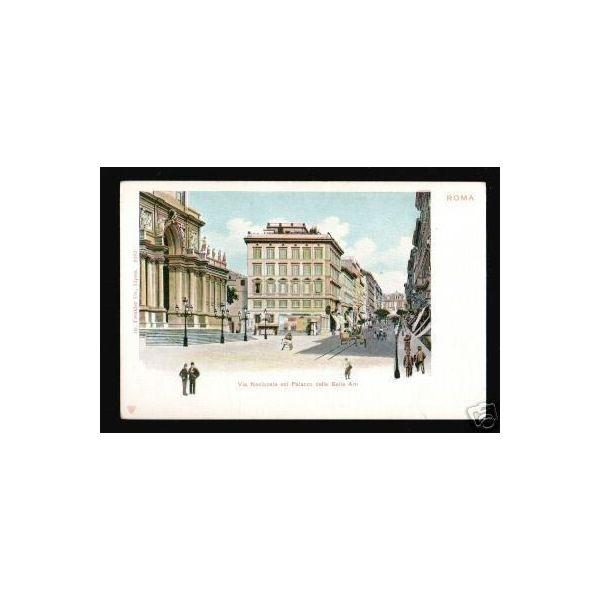 Italie roma via nazionale col palazzo delle belle arti for Palazzo delle esposizioni via nazionale roma