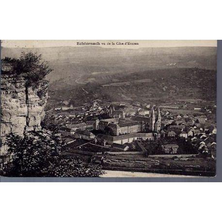 Luxembourg - Echternach vu de la cote d'Ernzen