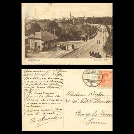 Luxembourg - Entree de la ville