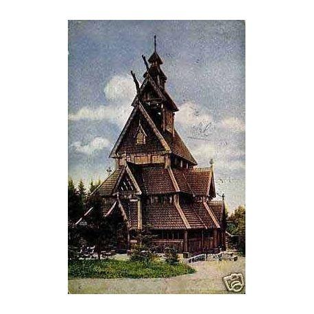 Norvege - Cristiania - Gols Stavkirke