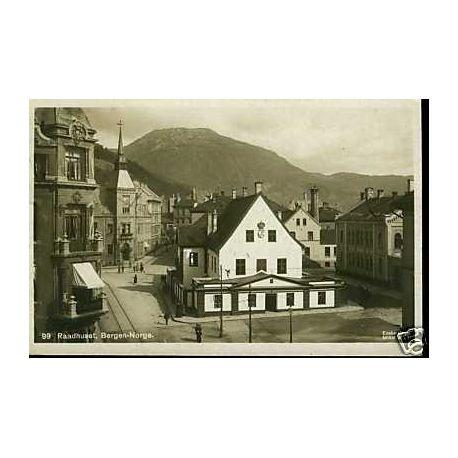 Norvege - Raadhuset - Bergen - Norge