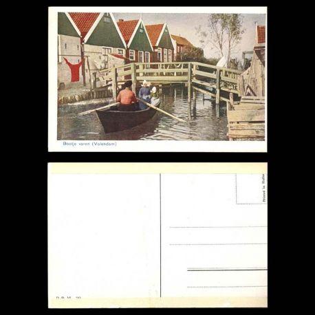 Pays-Bas - Bootje varen ( Volendam)