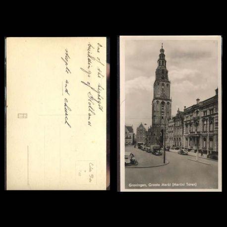 Pays-Bas - Groningen Markt - Martini Toren