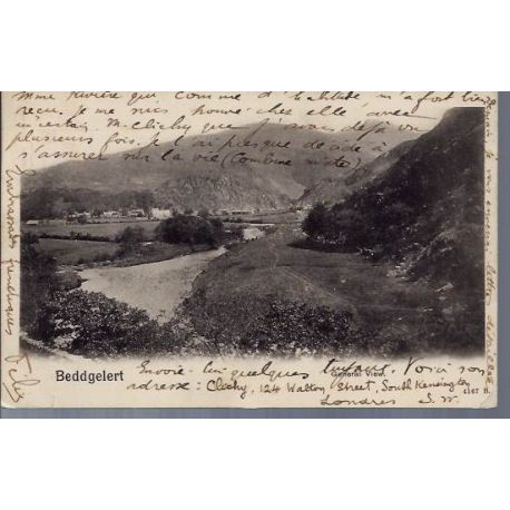 GB - Beddgelert - General view