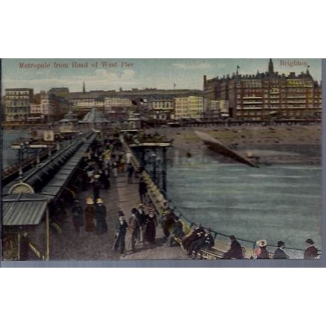 GB - Brighton - Metropole from head of west pier