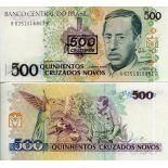 Billets de banque Bresil Pk N° 226 - 500 Cruzados