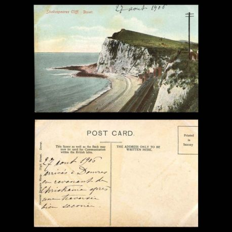 GB - Dover - Shakespeares Cliff.