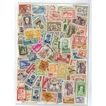 Sammlung gestempelter Briefmarken Indochina