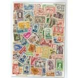 Used stamp collection Indo-China