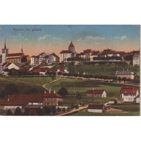 Suisse - Romont - Vue generale couleur