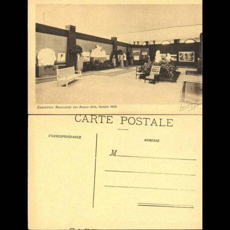 Suisse - 1 Exposition municipale des beaux-arts - Geneve 1906