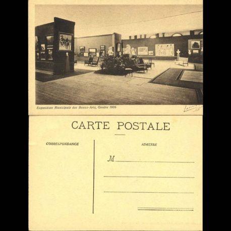 Suisse - 2 Exposition municipale des beaux-arts - Geneve 1906