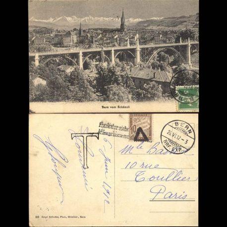 Suisse - Bern vom Scha¤nzli - Pont