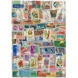 Collezione di francobolli l'Indonesia usati