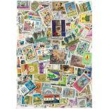 Sammlung gestempelter Briefmarken Irak