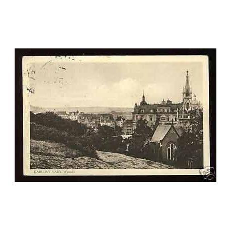 Tchecoslovaquie - Karlovy Vary - Westend - 1937