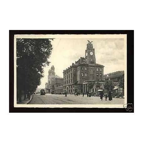 Tchecoslovaquie - Prague - Gare Wilson - 1937