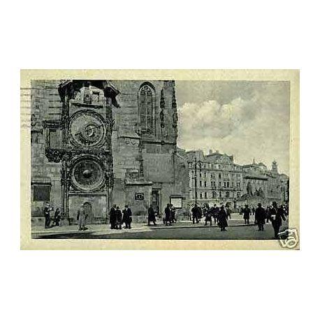 Tchecoslovaquie - Prague - L'Horloge antique