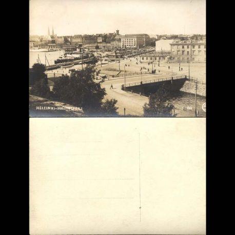 Suede - Helsinki - Helsingfors - Vue generale du port et de la ville