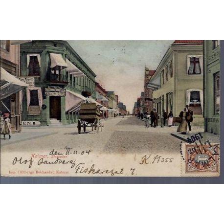 Suede - Kalmar - Storgatan - 1904 - Couleur